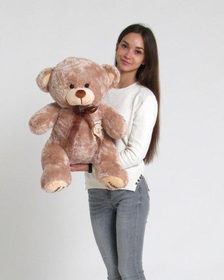 Медведь с бантом 80 см