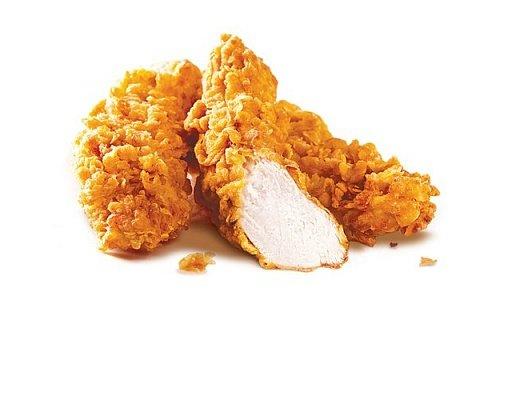 Стрипсы Фрайд (оригинальные) Нежные кусочки филе курицы в хрустящей панировке.
