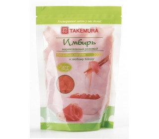 Имбирь TAKEMURA маринованный розовый